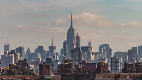 New York City , USA, Timelapse - Empire State Building | New York City Footage