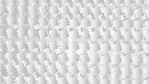 White grey geometric squares video animation Animation