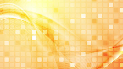 Abstract squares mosaic and waves video animation Animation