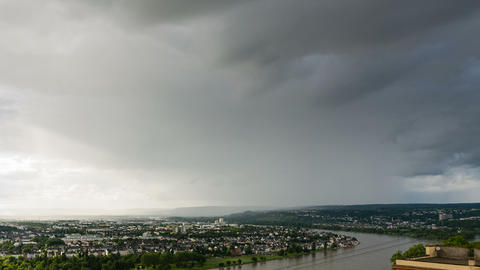Koblenz Rhine Valley Weather Timelapse Footage