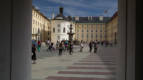 The Second Courtyard of Prague Castle Live Action