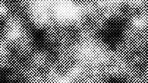 Abstract looped black and white background Animation