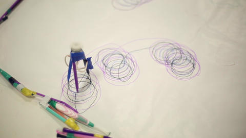 A robot that draws with markers Footage