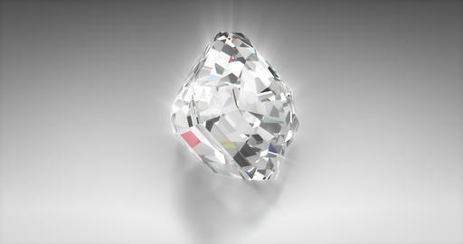 Asscher cut diamond Animation