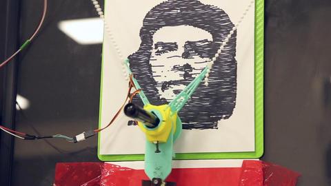 The robotic pen Footage