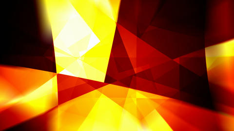 Fiery rotating triangles abstract motion background seamless loop Animation