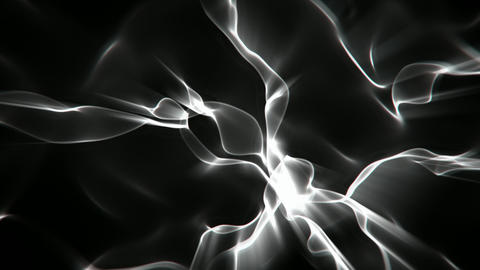Smoke light streaks abstract motion background seamless loop Animation