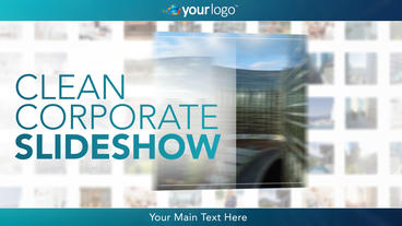 Clean Corporate Slideshow - After Effects Template After Effects Project