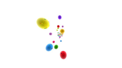 Colorful ball CG動画