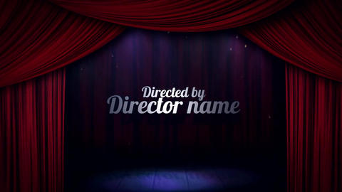 Curtain Reveal Opener After Effects Template