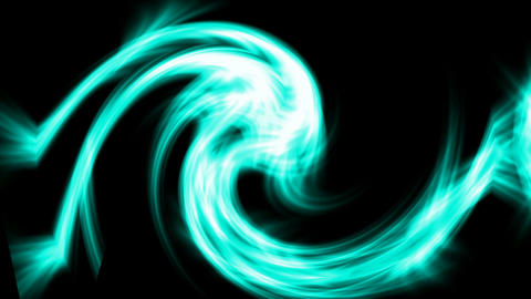 swirl fire rays laser light and airflow cyclone in universe,flame dragon and ele Animation