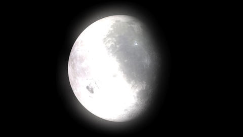 Moon Phases Stock Video Footage