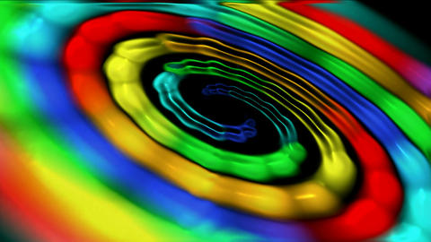 rainbow cyclones and tornadoes in Space,a birth of new... Stock Video Footage