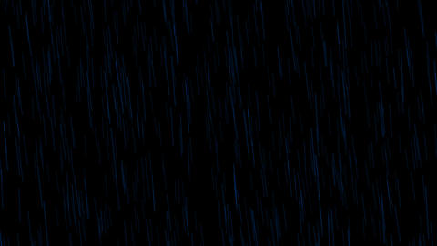 rain at night,water ripple in pond Stock Video Footage