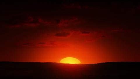 Beautiful Sunrise Stock Video Footage