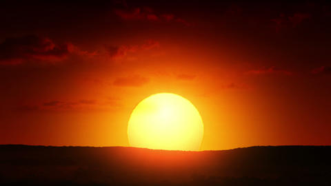 Beautiful Sunrise Animation