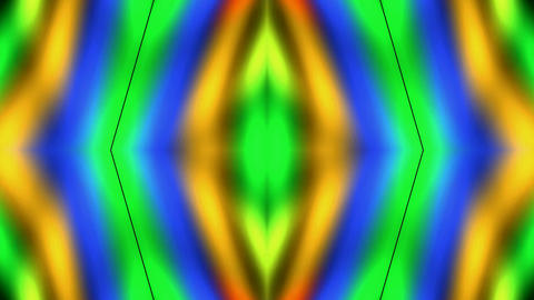 color rainbow rays light flower pattern and dazzling... Stock Video Footage