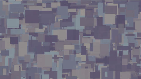 abstract square noise background,break debris pattern Stock Video Footage