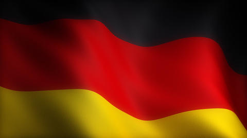 Flag of Germany Animation