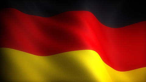 Flag of Germany Stock Video Footage