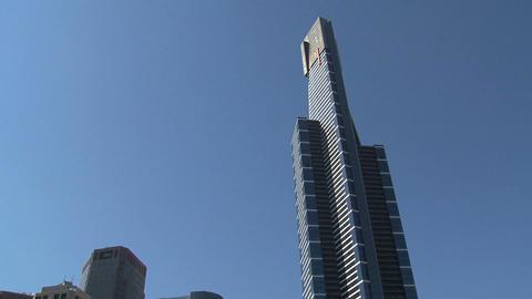 Tilt Eureka tower Stock Video Footage