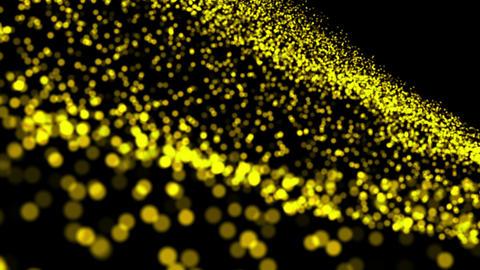 M78 黄色の光の砂 Stock Video Footage