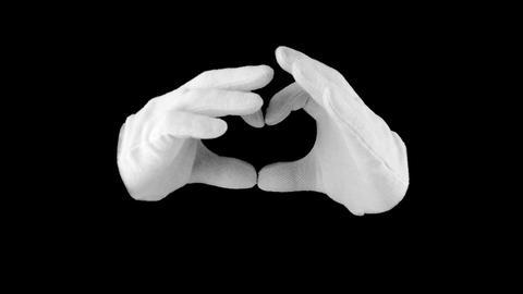 Symbol heart Stock Video Footage