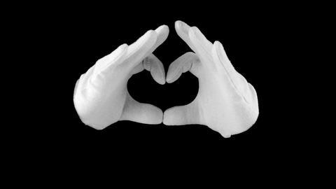 Symbol heart Footage