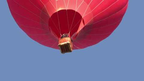 Red balloon Stock Video Footage