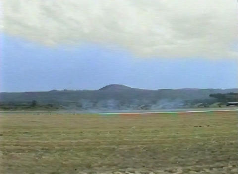 Ramstein Airshow Disaster lift off 10903 Stock Video Footage