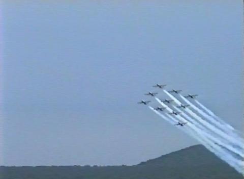 Ramstein Airshow Disaster last figure 10905 Footage