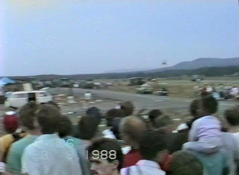 Ramstein Airshow Disaster rescue operations 10907 Stock Video Footage