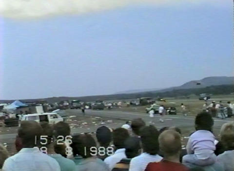 Ramstein   Airshow   Disaster  Rescue  Operations 10907  stock footage