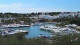 Yacht Harbor stock footage