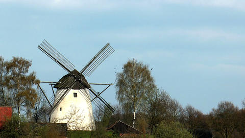 historic windmill Footage