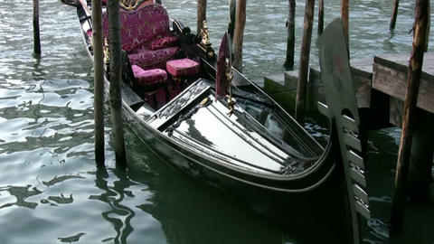 The gondola is waiting for you! Stock Video Footage