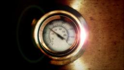 Temperature gauge Animation
