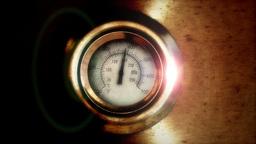 Temperature gauge Stock Video Footage