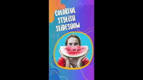 Colorful Stylish Slideshow