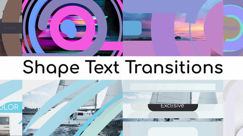 Shape Text Transitions