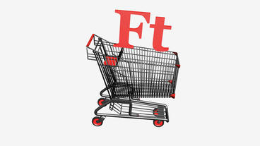 Shopping Cart with Ft Forint... Stock Video Footage