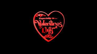Rotation of 3D Valentine's Day heart.love,red,symbol,heart,valentine,romance,ill Animation