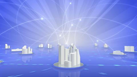 Network City 5 Ca 1 HD Animation