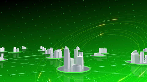 Network City 6 Ad 2 HD Stock Video Footage