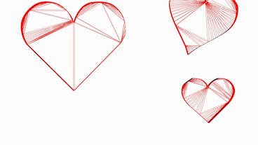 Moving heart.love,red,symbol,heart,valentine,romance,illustration,holiday,Grid,m Animation