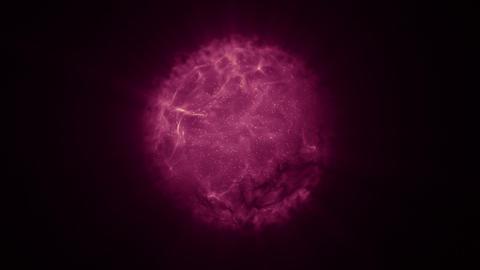 aura 02 pink Stock Video Footage