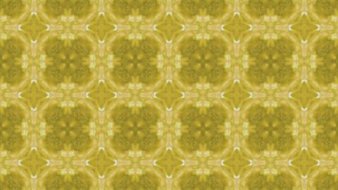 kaleide yellow Stock Video Footage