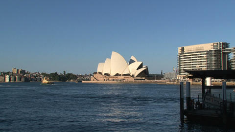 Sydney Opera House Stock Video Footage