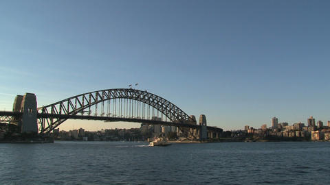 Sydney harbour bridge Footage