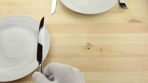 Tableware Stock Video Footage